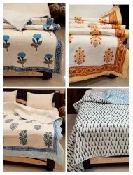 Cotton Quilted Bedspreads Exporter
