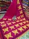 Handloom Butterfly Embroidered Saree