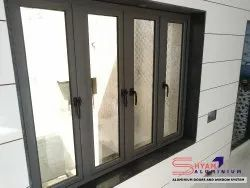 Aluminium Modern Z Section Windows