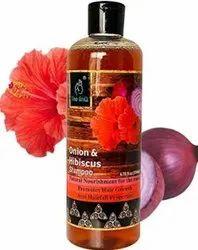 The EnQ Onion and hibiscus shampoo 500 ml