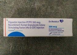 Dr Reddys Grastim Injection, Packaging Size: 1*1ml, 300 Mcg