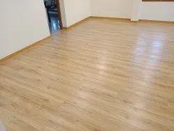 Laminate Wooden Flooring, For Indoor, Corporate Building