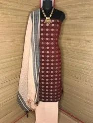 Khadi 3 Pcs Suit Materials