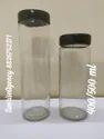 Long Glass Jar 400 ml and 500 ml