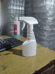 Pet bottle glass cleaner bottle milky colour