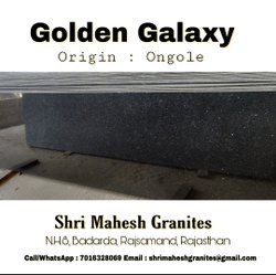 Golden Galaxy Granite Slabs