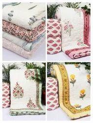 Hand Block Print Quilt Exporter