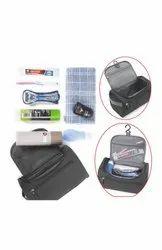 KS creations Black Shaving Kit Bag