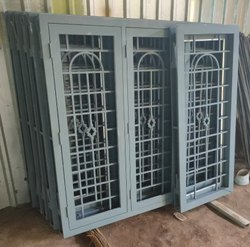 Galvanized Designer Metal Window