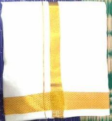 9 X 5 Pure Silk Dhoti
