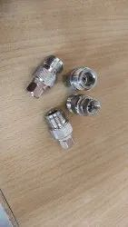 N Type Male Plug To F Female Jack Straight RF Coaxial Adapter Connector