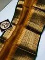 Kora Banarasi Silk Jacquard Weaving Sarees