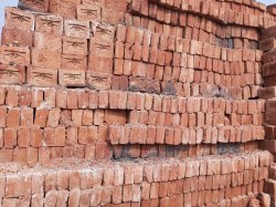 Rectangle Red Clay Brick