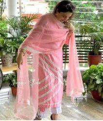 Radhe Cotton Designer Punjabi Suits, Handwash