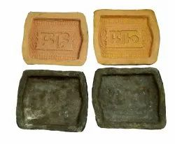 Cream Rubber Mold Big Shubh Labh Mould, Shape: Rectangle, Home Decor