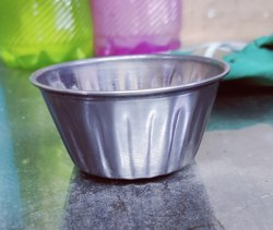 Round Metal Jelly Bowl, Size: 7cm To 11cm