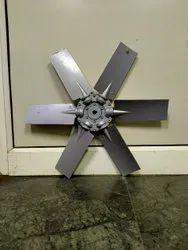 LN6 Silver Aluminum Fan Blades, Size: 300 To 1400