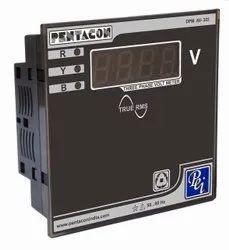 PENTACON Three Phase VOLT Meter, For Industrial, Model Name/Number: Dpm Av 303