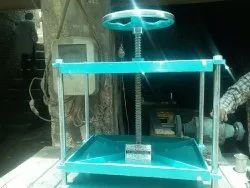 Hand Operated book pressing machine, Model Name/Number: 2021 Only New, Capacity: Depend On Operator