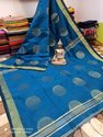 Handloom Silk Swarnachari Bengal Saree