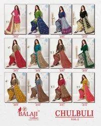 Balaji Chulbuli Vol 2 Printed Cotton Dress Material