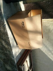 Brown Rectangular 5 Ply Corrugated Box