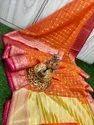 Banarasi Kora Organza Silk Saree