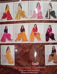 Patiyala Unstitched Cotton Printed Salwar Suits Rio, Handwash