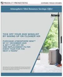 Atmosphere Mini Room Air Purifier Bonanza Offer with Replacement Filter