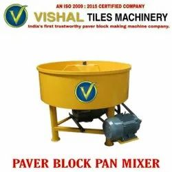 VVT20 Paver Block Pan Mixer Machine