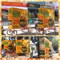 Tricycle Advertising Pune