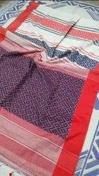 Khadi Cotton Weaving Jamdani Saree