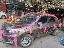 Weeding car Rental with decoration