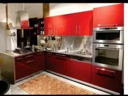 Modern German Acrylic Modular Kitchen