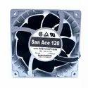 SanAce Cooling Fan 9SG1212P1G06 12VDC 4A