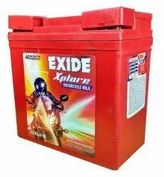 12 Xl9-B Exide Motorcycle Battery, 3kg, Capacity: 9 Ah