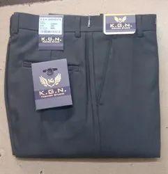 Plain Black Formal Trouser, Size: 30 to 38