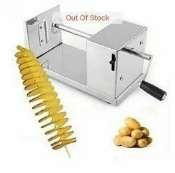 Mannual Spring Potato Cutter Spiral Potato Cutter