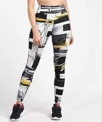 Ladies Lycra Yoga Pants
