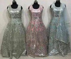Ladies Designer Party Wear Gown