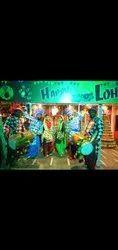 Punjabi Dhol Players and Dancers