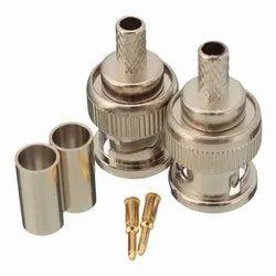 Bnc Connectors, Contact Material: Gold