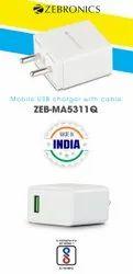 ZEB MA-5311Q Type-C Smart Phone Charger 18w