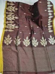 Linen Floral Jamdani Sarees