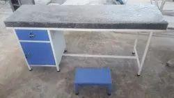 Mild Steel White Examination Table, 5