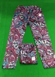 Ladies Multicolor Woolen Lower