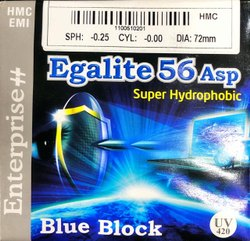 Egalite 1.56 ASP超疏水蓝色块状镜片