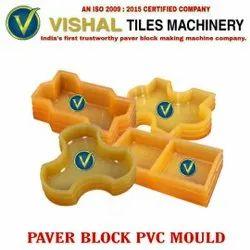 Yellow Paver Block PVC Mould