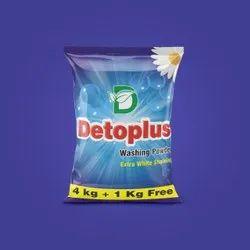 Detoplus Jasmine Washing Powder 5kg, For Laundry