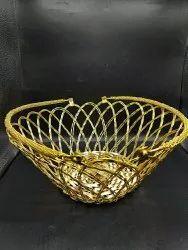 Gold Aluminium Bowl, For Gift